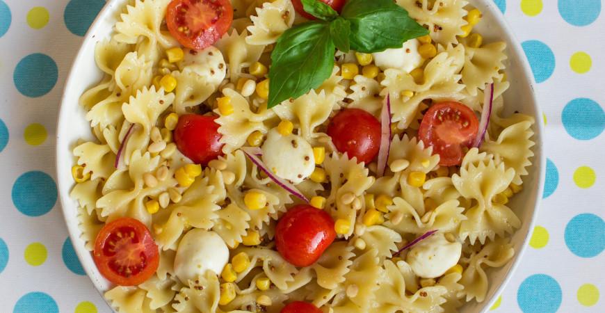 Recipe: Summer Corn and Tomato Pasta