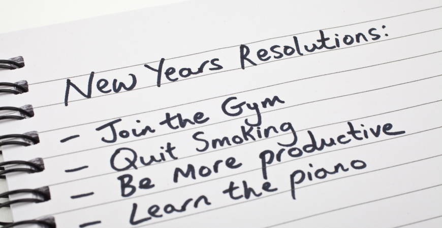 Tips for Sticking to your New Year's Resolutions