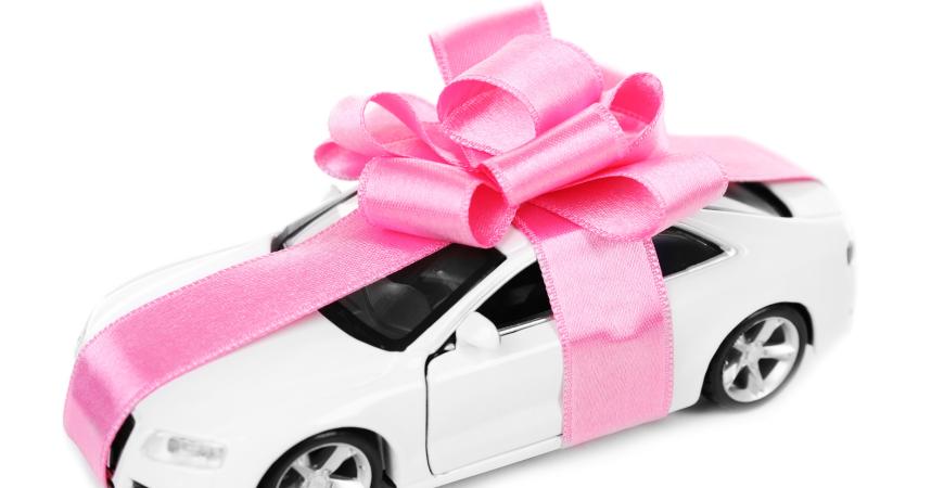 Car Insurance Pasadena CA & Buying a Car as a Gift