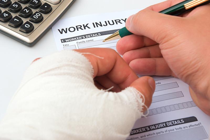 employee injured